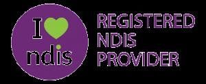 NDIS Registered Provider Logo